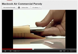 MacBook Air Parody