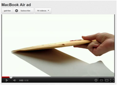 Macbook Air Commerical 1